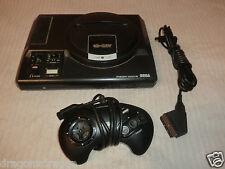 Sega Mega Drive, Schwarz, inkl. Contr. & Scart-Cable, ohne Netzt.