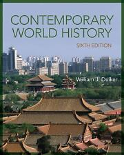 Contemporary World History by William J. Duiker (2014, Paperback)