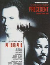 """Precedent - from the motion picture """"Philadelphia"""" - 1993 Sheet Music"""