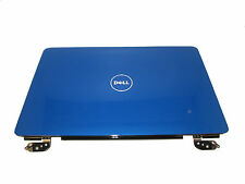 Dell Inspiron 1545 1546 Blue LCD Back Cover with Hinges RPY2W 0RPY2W Grade