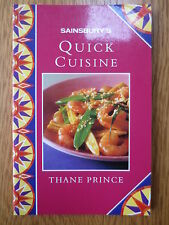 Cook Cookery Book Quick Cuisine Recipe Book Sainsbury's Thane Prince 1990s
