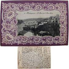 Mostaganem pont de l'Aïn-Sefra cpa 1921 Afrique du Nord Algérie Lorenzo gaufrée