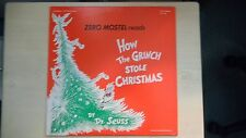 Zero Mostel Reads HOW THE GRINCH STOLE CHRISTMAS LP 1975