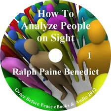 How to Analyze People on Sight by Ralph Paine Benedict Audiobook on 7 Audio CDs