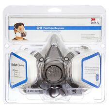 3M Tekk Protection Half Face Spray Paint Respirator