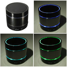 Beat Box Wireless LED Lights Bluetooth Stereo Hifi Mini Speaker For iphone 6 5s
