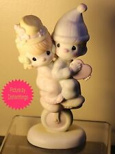 Enesco PRECIOUS MOMENTS Lord, Help Us Keep Our Act Together 101850 MINT!
