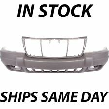 New Textured Light Brown Front Bumper Cover 1999-2003 Jeep Grand Cherokee W/ Fog