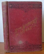 Some Mistakes of Moses by Robert G. Ingersoll 1879  Red Hardcover Book Agnostic