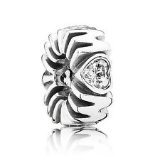 Authentic Pandora Charm Sterling Silver Mother Pride Spacer 791520CZ