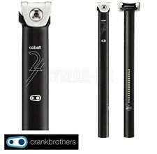 CRANK BROTHERS Cobalt2 Seatpost 34.9mm Straight InLine 400mm Black rrp:£59.99