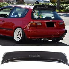 For 1992-1995 Honda Civic 3Dr EG6 Hatchback Rear Roof Spoiler ABS BYS Style