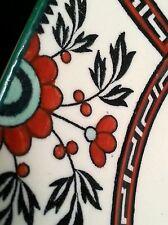 "Antique John Maddock & Sons England pottery Royal Ivory plates Madras 10"" [2]"