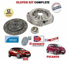 FOR KIA PICANTO + RIO 1.2 ENGINE G4LA 2008--  NEW CLUTCH PLATE COVER BEARING KIT