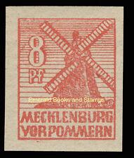EBS Germany 1946 Soviet Zone Mecklenburg-Vorpommern Michel 34y MNH**