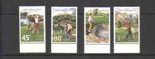New Zealand 1995 Golf Courses/Sport/Games 4v set n15788