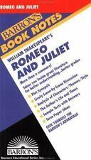 Romeo and Juliet (Barron's Book Notes)-ExLibrary