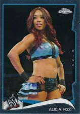 #56 ALICIA FOX 2014 Topps Chrome WWE DIVA