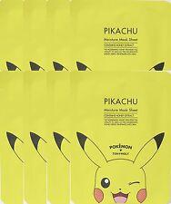 Tonymoly  Pokemon  Pikachu  Moisture Mask Sheet  x 8 sheets Honey extract
