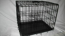 "Heavy duty/gauge 36"" Deluxe Dog Puppy Pet Cage Car Carrier Crate Folding"