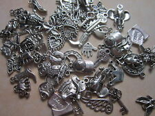 70 g antique tibetan silver pendants charms steampunk vintage crafts sales uk