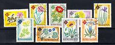 Rumänien Briefmarken 1961 Botanischer Garten Bukarest Mi.Nr.2020-28