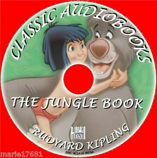 THE JUNGLE BOOK, BY RUDYARD KIPLING GREAT CLASSIC CHILDRENS MP3CD AUDIO BOOK NEW
