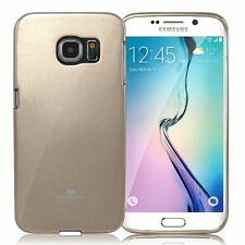 Korean Mercury TPU Case Cover for Samsung Galaxy S6 Edge Plus - Gold