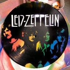 LED ZEPPELIN design.Handmade Stencil artwork on vinyls. Made in Australia