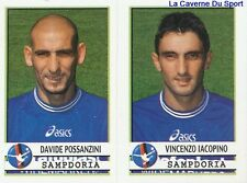 584 POSSANZINI IACOPINO ITALIA SAMPDORIA STICKER CALCIATORI 2002 PANINI