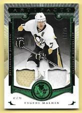 15/16 UD Artifacts Emerald #88 Evgeni Malkin Dual Jersey & Patch #03/75
