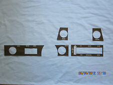 1970-72 skylark GS dashboard wood grain trim kit for cars with out  air