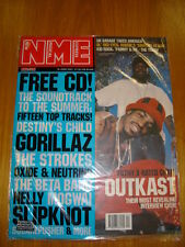 NME 2001 JUN 16 OUTKAST GORILLAZ DESTINY'S CHILD NELLY