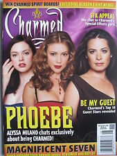 ALYSSA MILANO  ROSE McGOWAN  September 2005 CHARMED Magazine #6