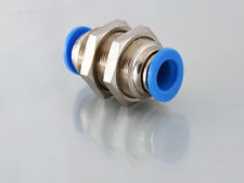 4mm to 4mm Bulkhead Push in Fitting                                        B130A