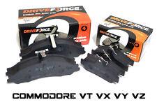 Front + Rear Disc Brake Pads Commodore VT VX VU VY VZ Set 9/97-06 Holden