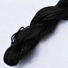 2mm Chinese Knot Satin Nylon Braided Cord Macrame Beading Rattail Wire Cords