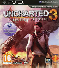 ELDORADODUJEU     UNCHARTED 3 L'ILLUSION DE DRAKE Pour PLAYSTATION 3 PS3 NEUF VF