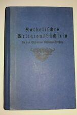 Buch katholisches Religionsbüchlein für die Grundschule altd. Schrift
