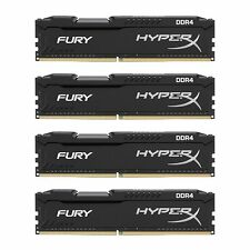 Kingston Tech HyperX FURY Bk 32GB (4x8GB) 2133MHz DIMM DDR4 (HX421C14FB2K4/32)