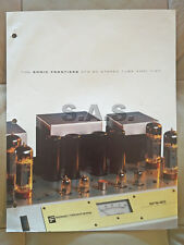 SONIC FRONTIERS OEM PRODUCT BROCHURE - SFS-80 STEREO VACUUM TUBE AMP - NICE - #2