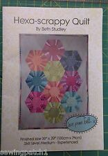 Quilt Pattern, Hexa-scrappy quilt pattern. Beth Studley,