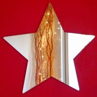 Star Mirrors Acrylic Mirror (Several Sizes Available)
