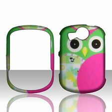 Green Owl Pantech Jest 2 II TXT8045 / Versa Case Hard Cover Phone Snap on