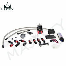 Adjustable Fuel Pressure Regulator&255 LPH fuel pump Kit FIT FOR DSM STI GTI EVO