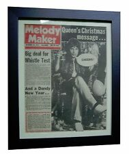 QUEEN+FREDDIE MERCURY+MELODY MAKER 1974+ORIGINAL+POSTER+FRAMED+FAST GLOBAL SHIP