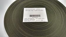"OLIVE DRAB 9/16"" IN MILITARY SPEC WEBBING 100 YARD ROLL FABRIC OUTDOOR CAMO #222"