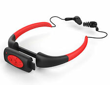 IPX8 Wasserdicht 8GB Sport MP3 Player Musik FM Radio für Schwimmen Duschen Rot