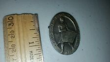 1929 SWITZERLAND MEDAL PIN AGOSTO AUGUST MEDAL MADE BY HUGUENIN LOCLE LOOK!