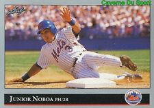 403   JUNIOR NOBOA    NEW YORK METS BASEBALL CARD LEAF 1992